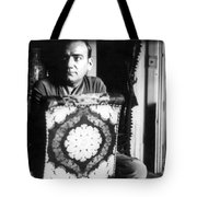 Enrico Caruso, Last Known Photo, 1921 Tote Bag