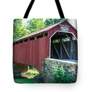 Enslow/turkey Tail Covered Bridge Tote Bag