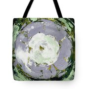 Enso Of Lavender Tote Bag