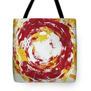 Enso Of Poppy Tote Bag