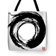 Enso / Zen Circle 15 Tote Bag