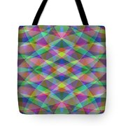 Entangled Curves Two Tote Bag
