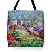 Enter His Gates Tote Bag