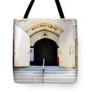 Enter, Rest And Pray Tote Bag
