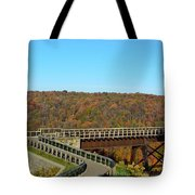 Enter The Kinzua Skywalk Tote Bag