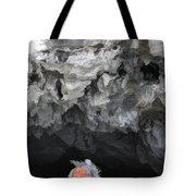 Entering Cave Boat Vietnam  Tote Bag