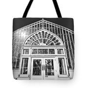 Entering The Greenhouse Tote Bag