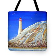 Entering The Harbor Tote Bag