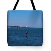 Entering Watch Hill Waters Tote Bag
