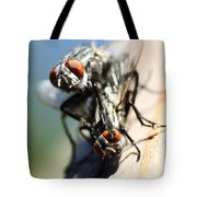Entomologists Discover Why People Want To Be A Fly On The Wall Tote Bag