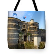 Entrance Gate Of Angers Castle Tote Bag