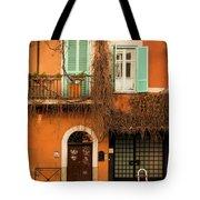 Entrance In Rome Tote Bag