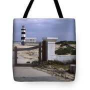 Entrance Of A Lighthouse, Cape Recife Tote Bag