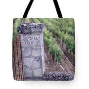 Entrance Of A Vineyard, Chateau La Tote Bag
