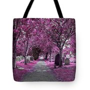 Entrance To A Cemetery Tote Bag