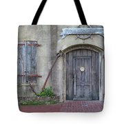 Entrance To An Old Chandlery Tote Bag