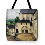 Entrance To Fontevraud Abbey Tote Bag
