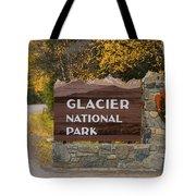 Entrance To Glacier Tote Bag