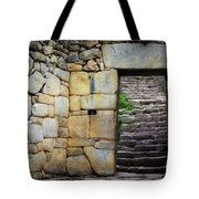 Entrance To Machupicchu Tote Bag