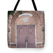 Entrance To Temple Tote Bag