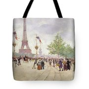 Entrance To The Exposition Universelle Tote Bag