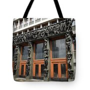 Entrance To The National Assembly Building Of Slovenia Slovenian Tote Bag