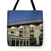 Entrance To The Old Course Hotel Tote Bag