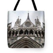 Entrance To The Royal Courts London Tote Bag