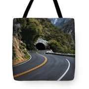 Entrance To The Valley Tote Bag