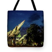 Entrance Wright Patterson Afb Tote Bag