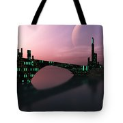 Entrancement Tote Bag by Corey Ford