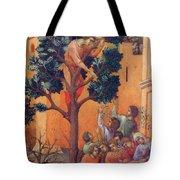 Entry Into Jerusalem Fragment 1311 Tote Bag
