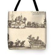 Entry Of His Highness, Representing The Sun Tote Bag