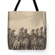 Entry Of Marie De Medici Into Amsterdam [plate 5 Of 6] Tote Bag