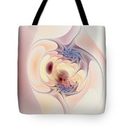 Entwined In Metaphysics Tote Bag by Casey Kotas