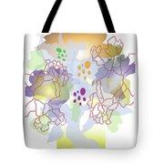 Enviro-web Florescence II Tote Bag