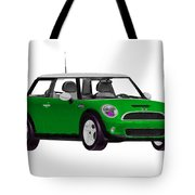Envy Green Mini Cooper Tote Bag