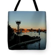 Epcot At Dusk Tote Bag