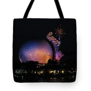 Epcot At Night II Tote Bag