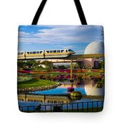Epcot - Disney World Tote Bag by Michael Tesar