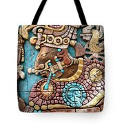 Epcot Mayan Warrior Tote Bag