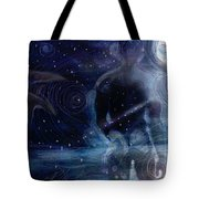 Ephemeral And Illusionary Existence Tote Bag