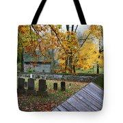 Ephrata Cloister Cemetery Tote Bag