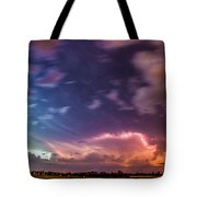 Epic Nebraska Lightning 009 Tote Bag
