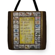 Epitome Of Jainism Tote Bag