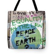 Equality Before The Law Tote Bag