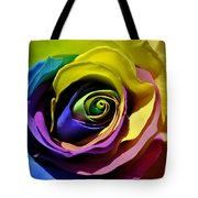 Equality Rose Tote Bag