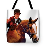 Equestrain Tote Bag