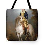Equestrian Portrait Of George Washington Tote Bag