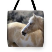 Equine Golden Glow Tote Bag